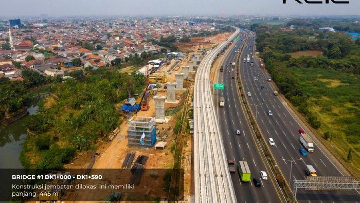 Proyek kereta cepat Jakarta-Bandung/Foto: Istimewa/KCIC