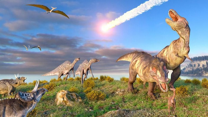 Dinosaurus punah