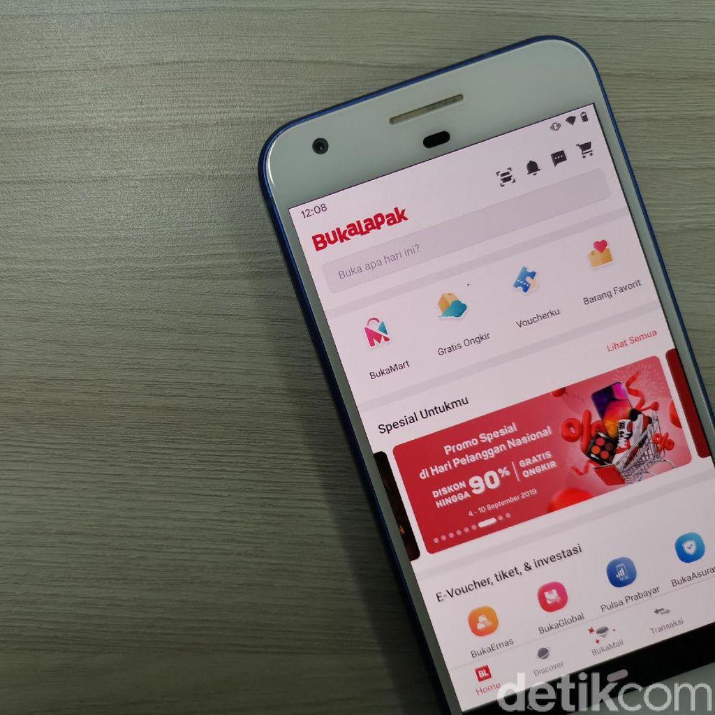 Seputar Bukalapak, Aplikasi yang Sempat Hilang dari Google Play Store