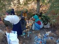 Ada pula puluhan botol plastik air mineral dan gelas plastik minuman lainnya di Pantai Pink itu(evanstevano/Komodo National Park-Indonesia/Instagram/Istimewa)