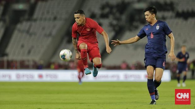 Beto Goncalves dan kawan-kawan kesulitan mencetak gol ke gawang Thailand.