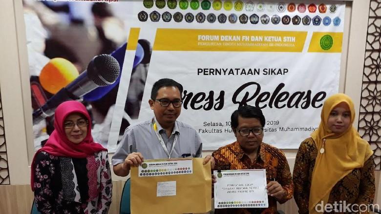 40 Perguruan Tinggi Muhammadiyah se-Indonesia Tolak Revisi UU KPK