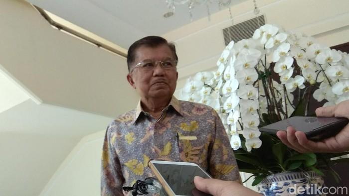 Wakil Presiden Jusuf Kalla (JK) (Foto: Fida/detikcom)