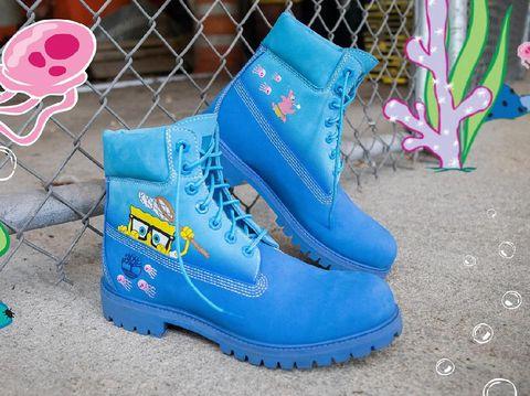 Boots Timberland x SpongeBob SquarePants