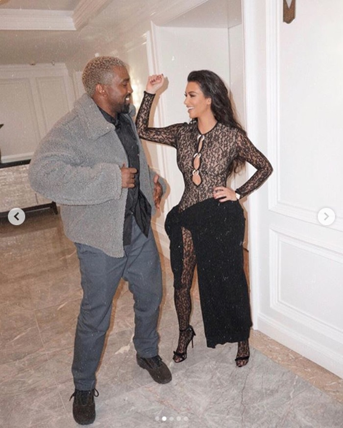 Kim Kardashian dari instagram.