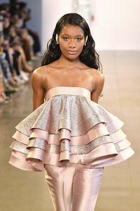 Koleksi Spring-Summer 2020 milik desainer Julianto bersinar di New York fashion Week