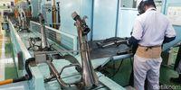 Intip Produksi Honda Genio di Cikarang