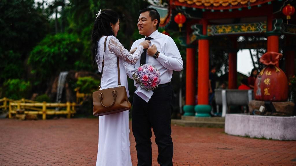 99 Pasangan di Malaysia Menikah Massal di Tanggal Cantik 9-9-2019