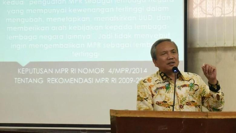 MPR: Amandemen UUD 1945 Tak Akan Melebar ke Mana-mana