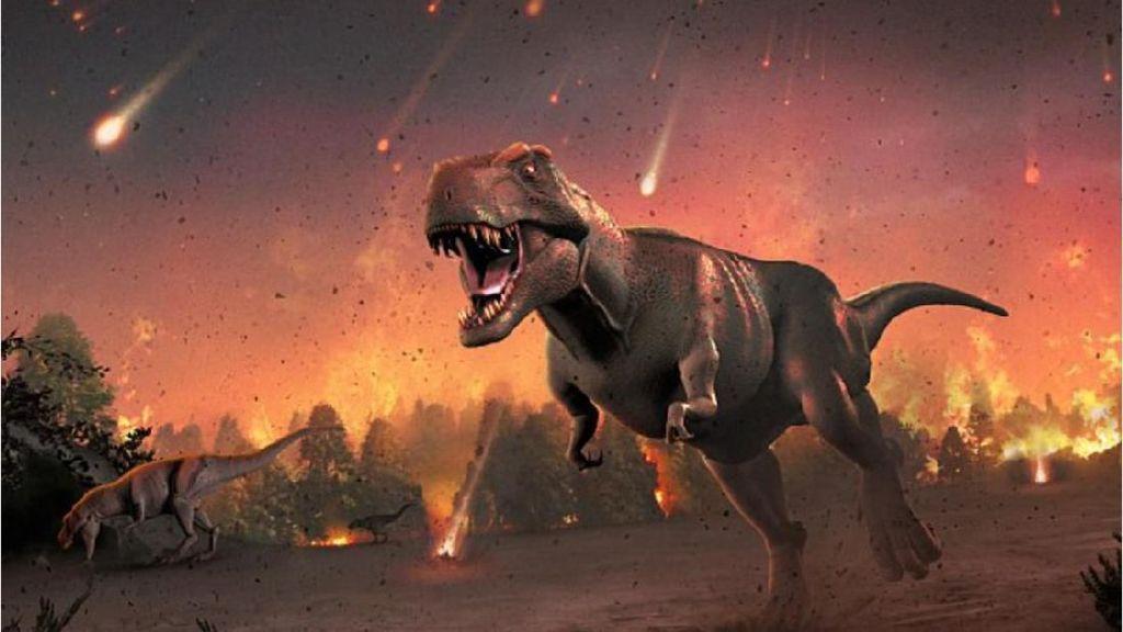 Asteroid Hantam Dinosaurus dengan Sudut Paling Mematikan