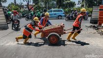 Revitalisasi Trotoar Kramat Ditarget Rampung Akhir Tahun