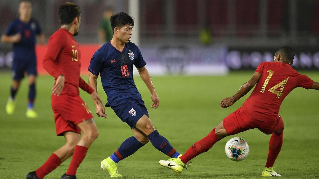 Hadapi Thailand di Stadion GBK, Indonesia Kalah Telak 0-3