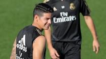 Madrid Pastikan James Alami Cedera Lutut