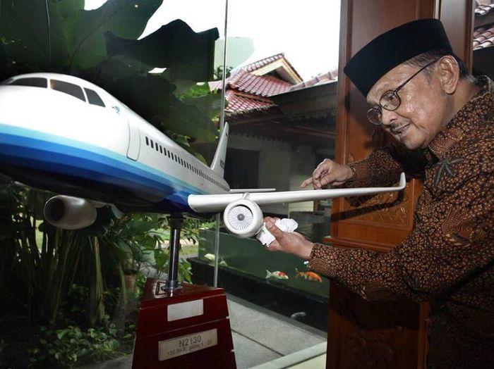 B.J Habibie tutup usia. (Foto: Istimewa)