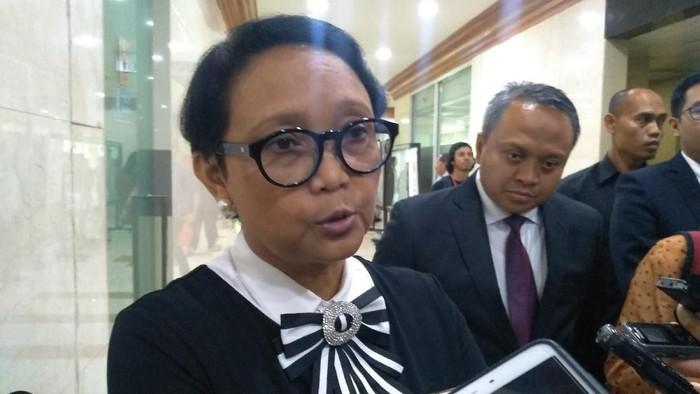 Menlu Retno LP Marsudi (Nur Azizah/detikcom)