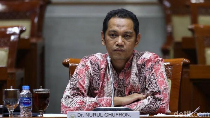 Pimpinan KPK terpilih Nurul Ghufron. (Agung Pambudhy/detikcom)