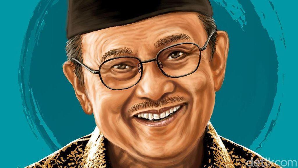 Julukan Mr Crack BJ Habibie berkat Karya Besarnya di Dunia Teknologi