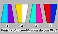 Pilih 1 dari 4 Kombinasi Warna Ini untuk Ungkap Kepribadian Kamu