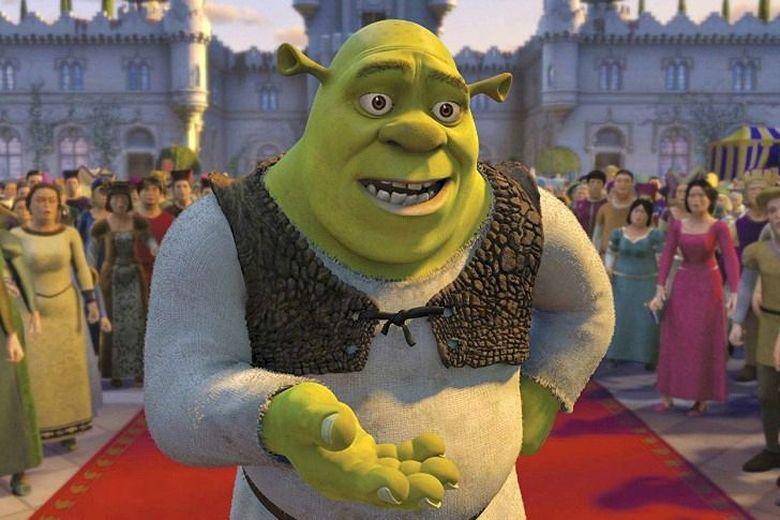 Film Shrek 2 dilarang tayang di Israel karena dianggap memiliki humor yang gelap dan tak cocok untuk anak-anak. Mereka bahkan meminta karakter David Daor dihapus dari film itu. Dok.Dreamworks