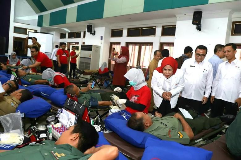 Serentak! 18 Lokasi di Banten Gelar Donor Darah