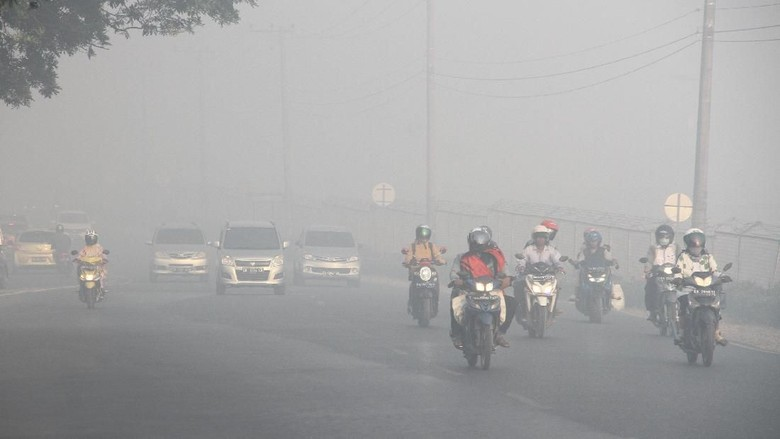 Ancaman Kabut Asap Mengepung Sumatera Hingga Malaysia