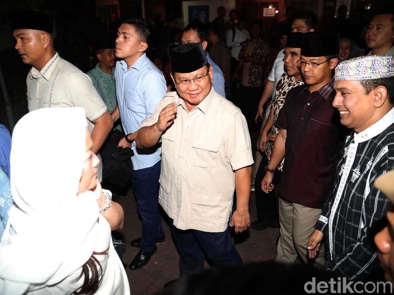 Bertemu Surya Paloh, Prabowo: Saya Temukan Titik Persamaan