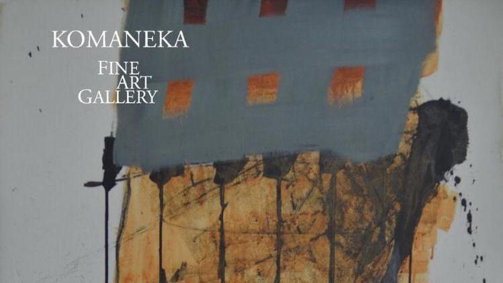 Pameran 57 x 76 Boyong Lukisan Hanafi dan Goenawan Mohamad ke Ubud