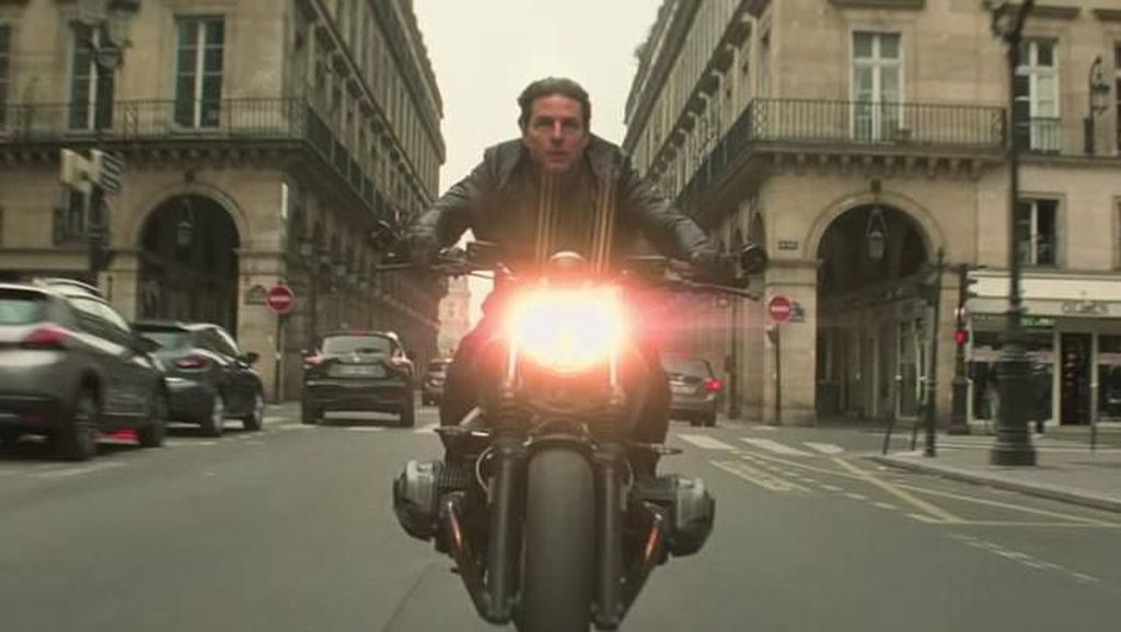 Motor Meledak Rusak Lokasi Syuting Film Mission Impossible
