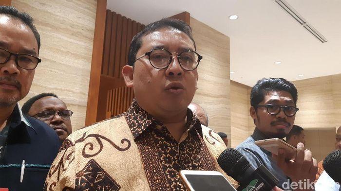 Wakil Ketua DPR Fadli Zon/Foto: Tsarina/detikcom