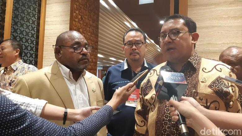 Fadli Dukung Pemecahan Provinsi Papua: Jika Selesaikan Masalah Kenapa Tidak?