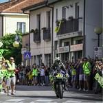 Rossi Pulang Kampung Naik Motor MotoGP