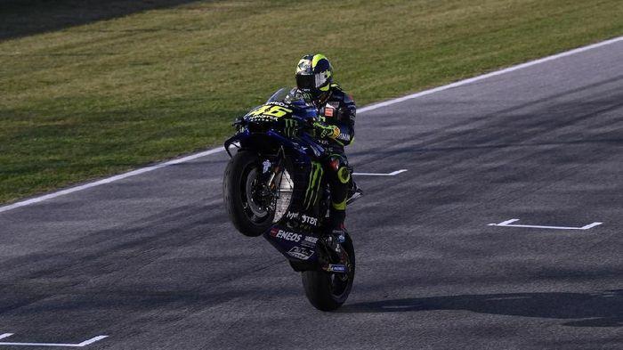 Valentino Rossi diprediksi bakal bersaing di barisan terdepan MotoGP San Marino. (Foto: Dok. Yamaha Motor Racing)