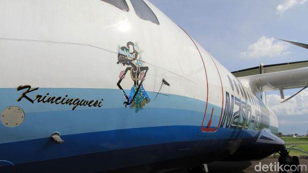 Pesawat N250 buatan BJ Habibie