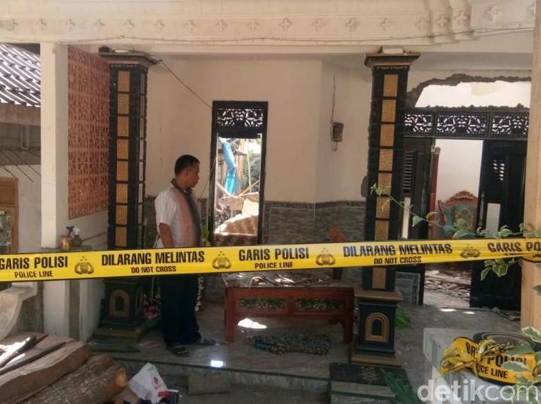 Bondet Meledak di Pasuruan, Pemilik Rumah Terbakar Sekujur Tubuh