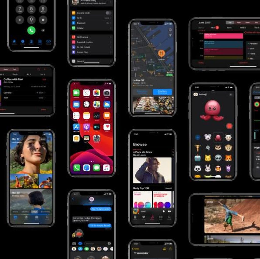 Fitur Baru iOS 13 untuk iPhone 6S hingga Versi Terbaru