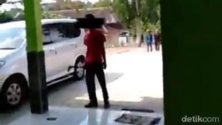 Siswa SMP Ancam Guru Pakai Sajam di Gunungkidul, Polisi Turun Tangan