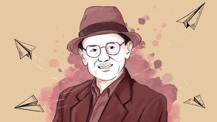 Presiden RI ke-3 Prof BJ Habibie