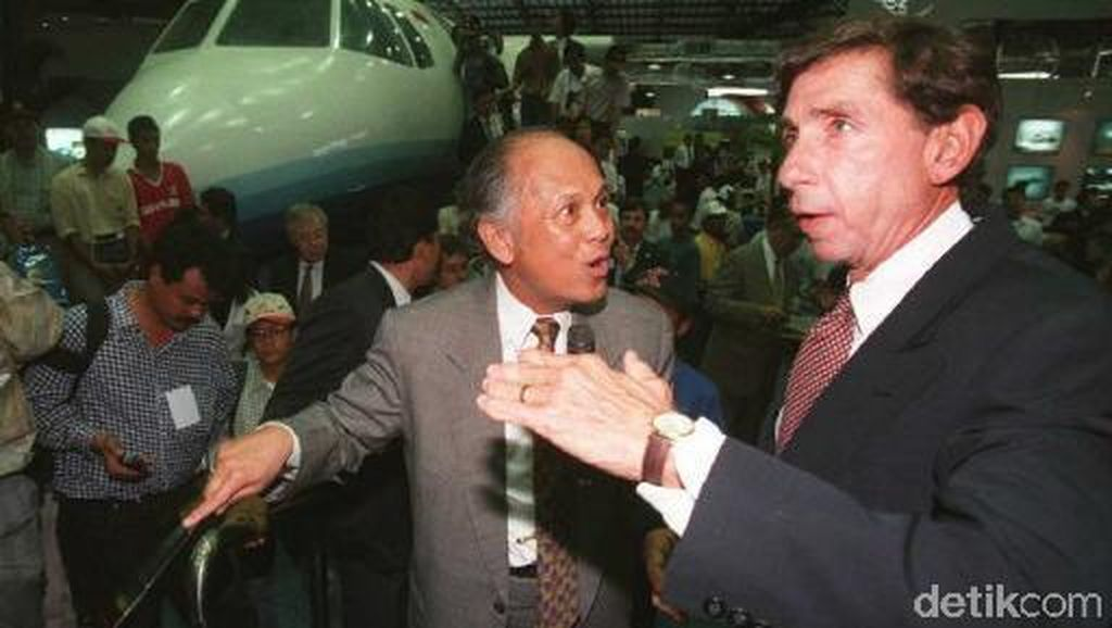 Pesawat-pesawat BJ Habibie yang Harumkan Nama Indonesia