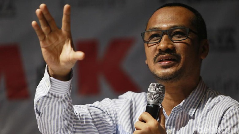 Abraham Samad Desak Jokowi Duduk Bersama Pimpinan KPK Bahas Revisi