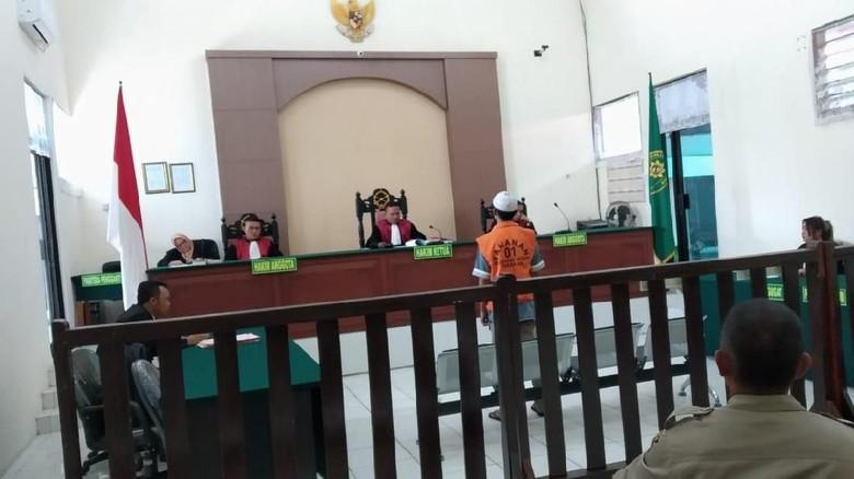Tok! Muhammad Irfan Dihukum Mati karena Jadi Bandar 10 Kg Sabu