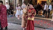 Viral Pernikahan Beda Usia 34 Tahun, Pengantin Wanita Dituduh Incar Harta