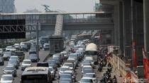 Suasana Tiga Ruas Jalan di Jakarta yang Bebas Ganjil Genap