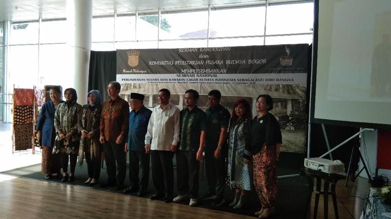 Suasana peluncuran peta cagar budaya di Bogor (Elmy/detikcom)