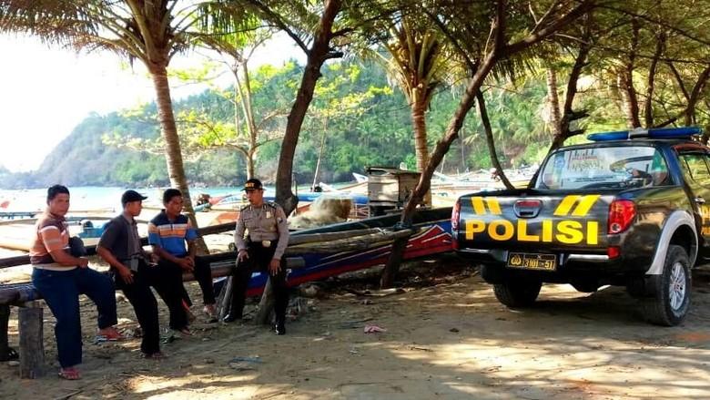Dua Pencari Rumput Laut Dikabarkan Hilang di Pesisir Trenggalek