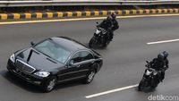 Mercedes-Benz Serahkan Perawatan Mobil Presiden ke Istana