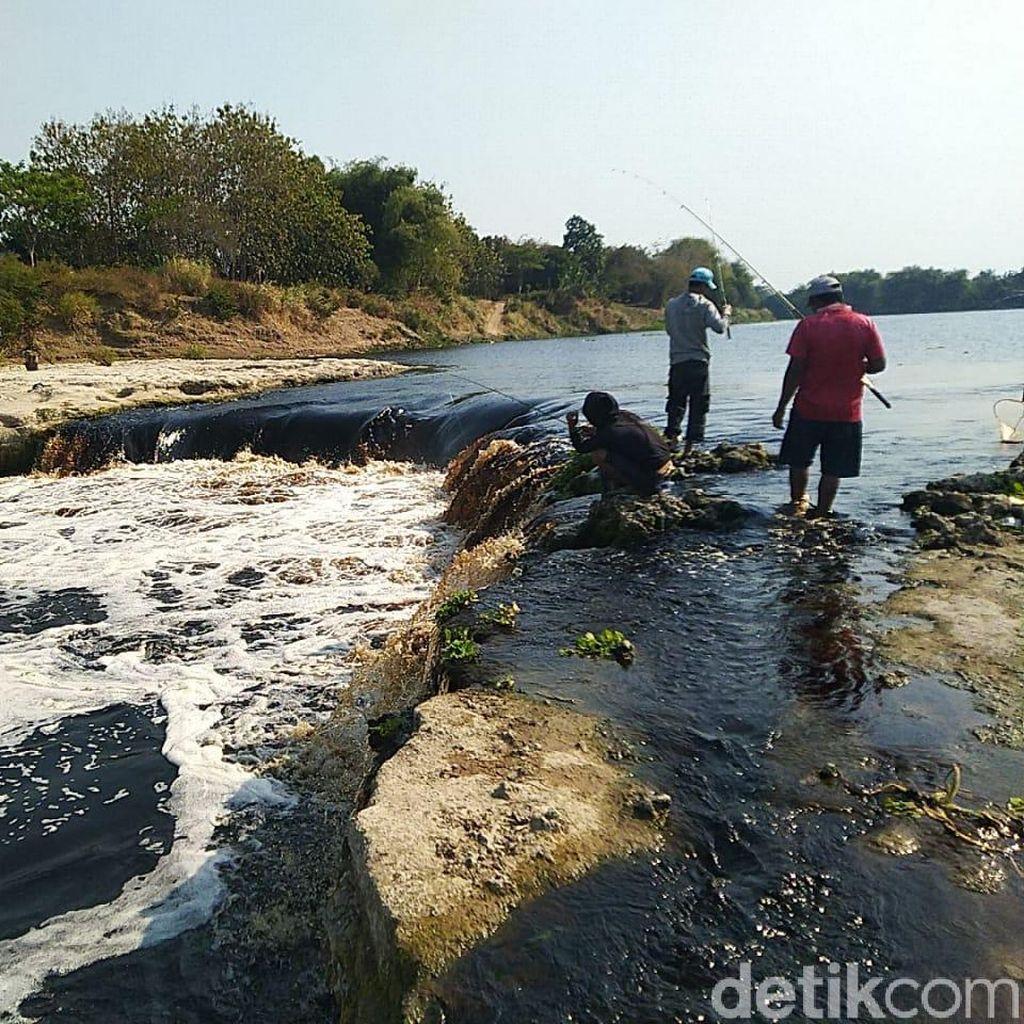 Air Bengawan Solo Tercemar Berat, Dikonsumsi Bisa Sebabkan Kanker