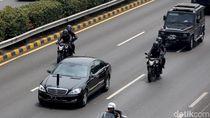 Pengemudi Mobil Presiden Dilatih Khusus oleh Mercedes-Benz