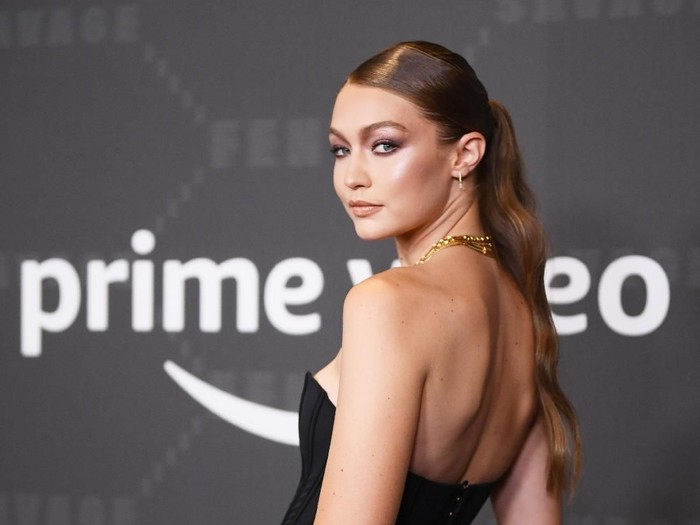 BROOKLYN, NEW YORK - SEPTEMBER 10: Gigi Hadid attends Savage X Fenty Show Presented By Amazon Prime Video - Arrivals at Barclays Center on September 10, 2019 in Brooklyn, New York. (Photo by Dimitrios Kambouris/Getty Images for Savage X Fenty Show Presented by Amazon Prime Video )