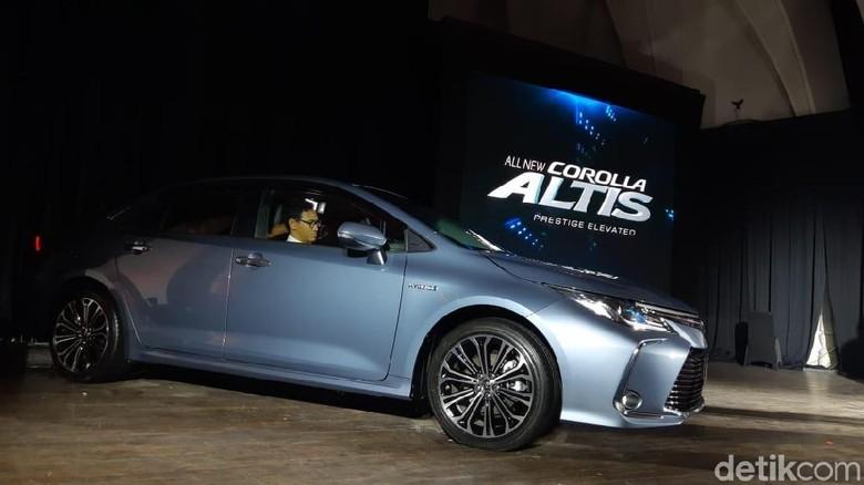 All New Corolla Altis Foto: Ridwan Arifin/detikOto