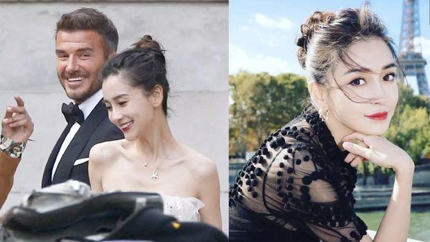 Psst.. David Beckham 'Poligami' dengan Aktris Cantik China